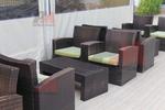 Богатство от изпълнения на ратанова мебел за интериор
