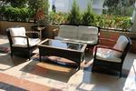 Елегантни и удобни комплекти от ратан за заведения