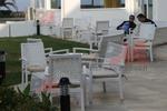 Уникални маси и столове от светъл ратан