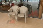 Маси и столове, произведени от ратан бежови