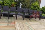 Елегантни и удобни маси и столове от ратан антрацит